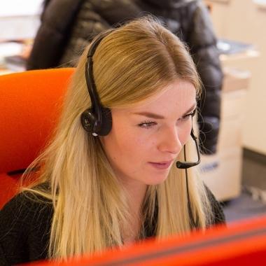 Konzentrierte Aufmerksamkeit ? immer das Ohr am Kunden.
