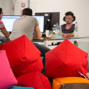 Wir stehen auf Würfel - alternative mobile Sitzgelegenheiten für jeden Bedarf