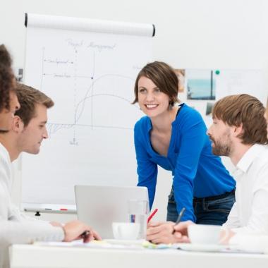 Wir verbinden Arbeit mit Spaß am Erfolg
