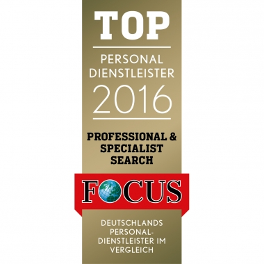 Wir sind TOP Personaldienstleister 2016!
