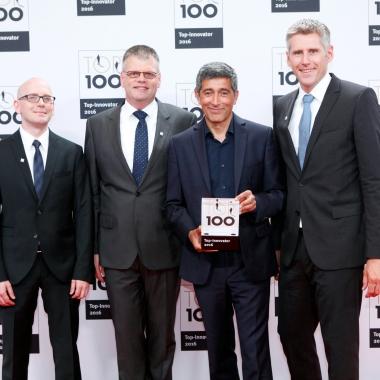 TOP 100-Award für herausragende Innovationskraft im Mittelstand