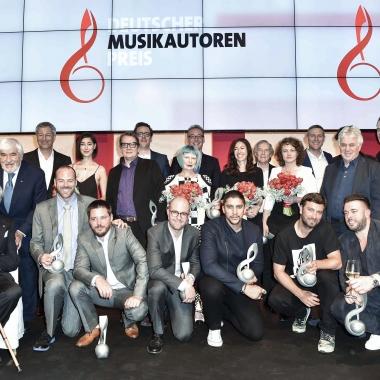 Deutscher Musikautorenpreis 2016  © BrauerPhotos