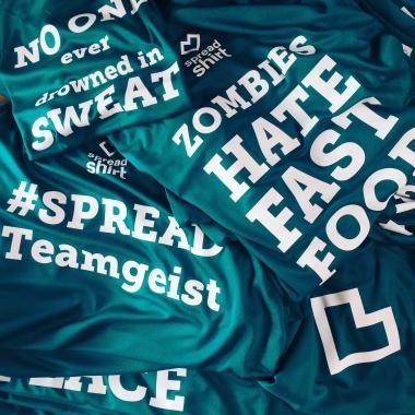 Teamshirts für den Firmenlauf
