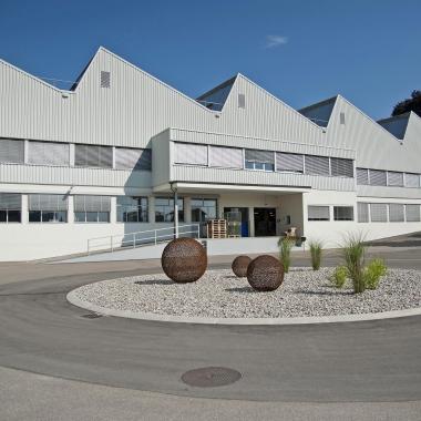 Firmengelände der TROX HESCO Schweiz AG in Rüti (Zürcher Oberland)