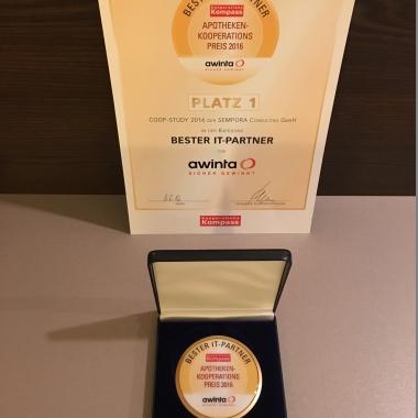 Auszeichnung Bester IT-Partner