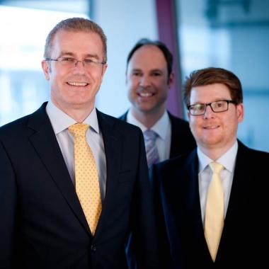 Jürgen Löhle, Geschäftsführer, Dr. Martin Kreutz, Consulting Manager, Ralf Bernhard, Partner