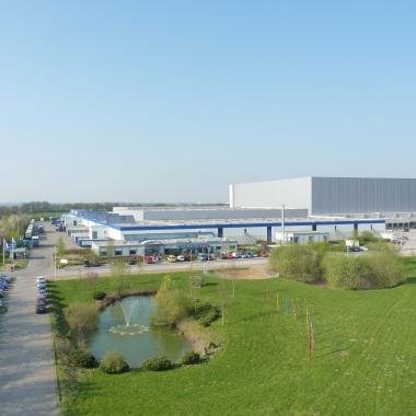 Unser Logistikzentrum in Zarrentin am Schaalsee