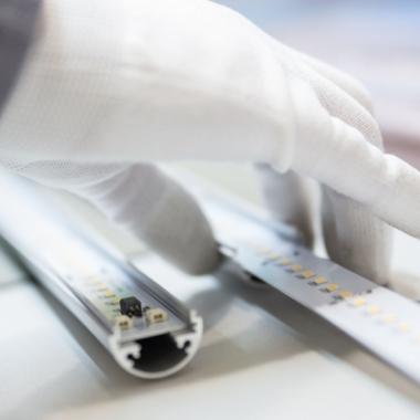 Ausschnitt aus der Produktion unserer LED-Röhren (Made in Germany)