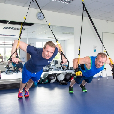 Sport- und Fitnessraum für Mitarbeiter/innen der LANCOM Systems