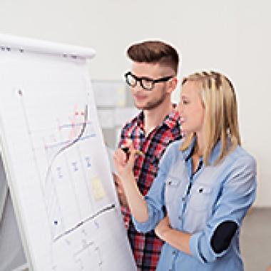 Wir arbeiten in dynamischen Teams und sind ein stetig wachsendes Unternehmen.