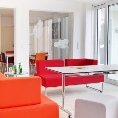 In der Göttinger Lounge lassen sich wunderbar die nächsten Marketing-Strategien entwickeln.