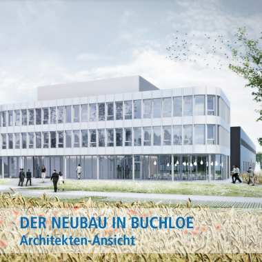 Architektenansicht: Der Neubau in Buchloe (Allgäu)