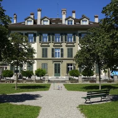Der GARAIO Hauptsitz an zentraler Lage, in nächster Nähe zum Bahnhof Bern - die Villa Landhof