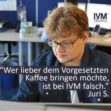 Juri S. Praktikant bei IVM 2016