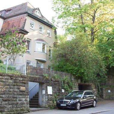 Die kleine Villa in Stuttgart