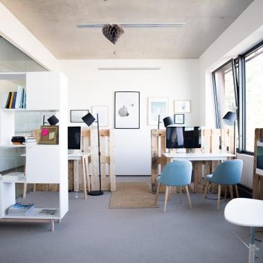 """Der """"Blue room"""" / Ruhearbeitsraum"""
