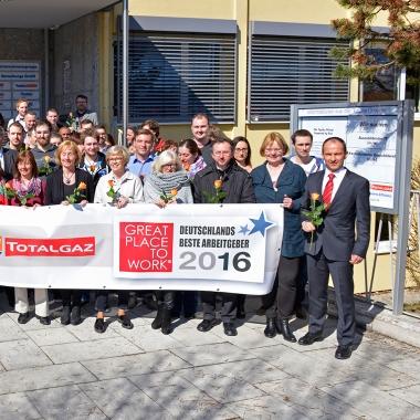 Wir gehören zum 6. Mal zu den 100 besten Arbeitgebern Deutschlands
