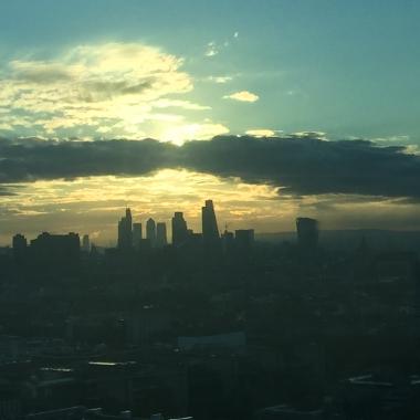 Traumhafter Blick über London aus dem 32ten Stock
