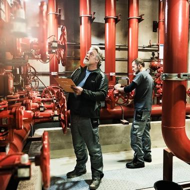 Facility Services bei der BIG (© Oliver Gast)