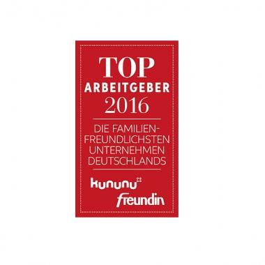 """Auszeichnung """"Deutschlands familienfreundlichste Unternehmen"""""""