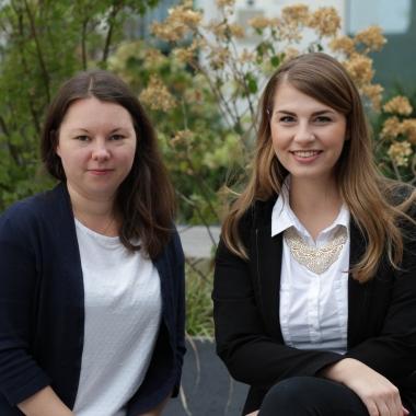 Das Experis IT Recruiting-Team: Diana Dobra und Doris Sonnleithner