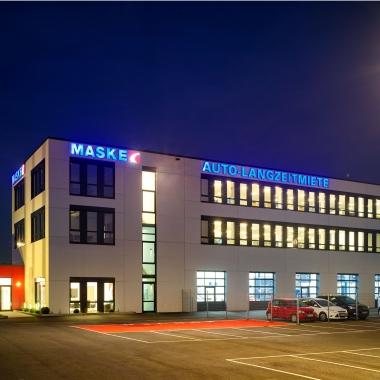 Maske Fleet Zentrale in Bockel