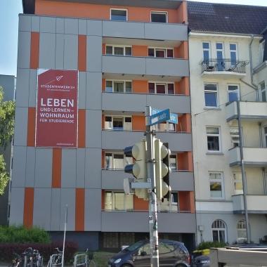 20 Wohnheime mit über 3.000 Plätzen werden vom Studentenwerk an den Hochschulstandorten in Schleswig-Holstein betrieben.