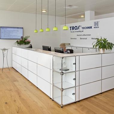 Herzlich Willkommen bei der TROX HESCO Schweiz AG