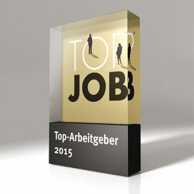 Funk ist ausgezeichnet: Für seine Qualitäten als Arbeitgeber gab es 2015 das renommierte Top Job Siegel