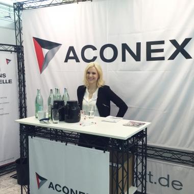 Lernen Sie uns auf einer Karrieremesse kennen! Alle Messetermine finden Sie auf www.aconext.de/karriere/messen