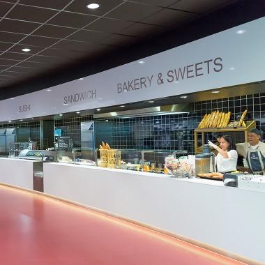 modernste und maßgeschneiderte Foodcourt-Konzepte