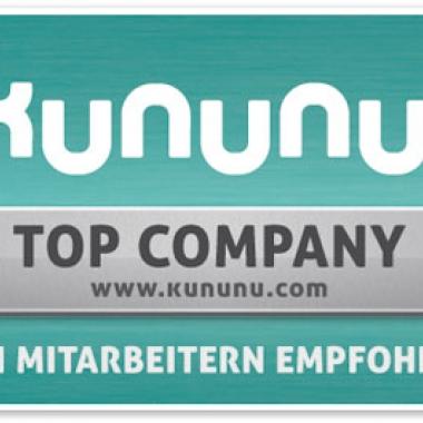 Kurtz Ersa ist TOP COMPANY - zum 2. Mal in Folge!