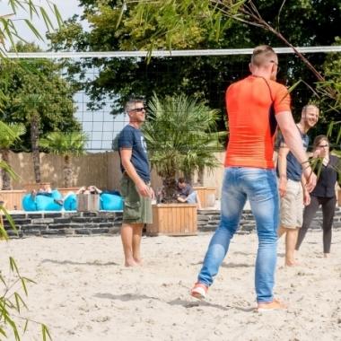 Volleyballfeld am Shopware-Beach