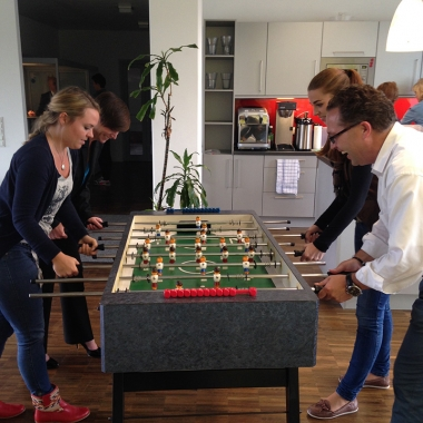 Retarus HQ München - Kicker