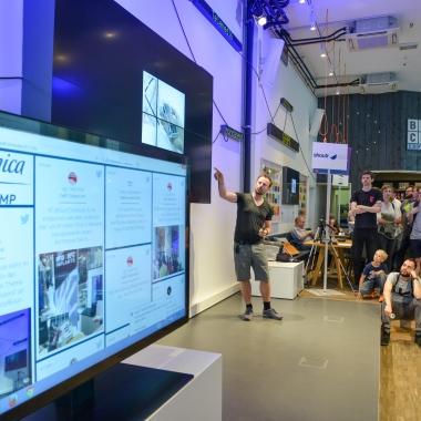 Der IoT-Kitchen-Talk im Telefónica BASECAMP in Berlin