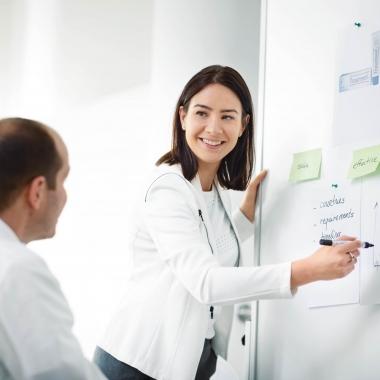 Bei uns arbeiten Sie an Projekten mit engagierten und teamorientierten Kollegen, die etwas bewegen möchten.