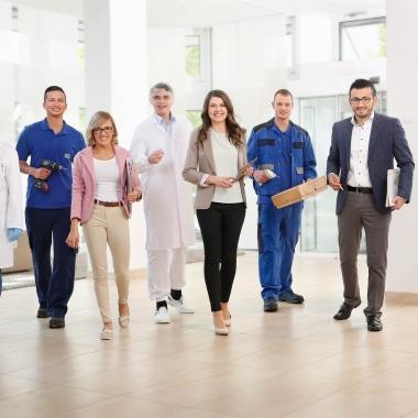 Am Hauptstandort von Heel in Baden-Baden bieten wir eine Vielzahl von Ausbildungs- und Studiengängen, die zum Sprungbrett einer spannenden Karriere werden können.