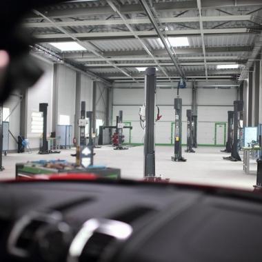 M Plan Akustikzentrum Stuttgart Werkhalle