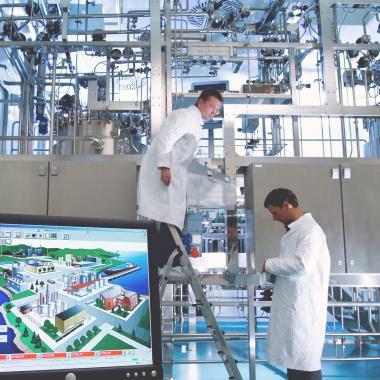 International steril plant Installation!
