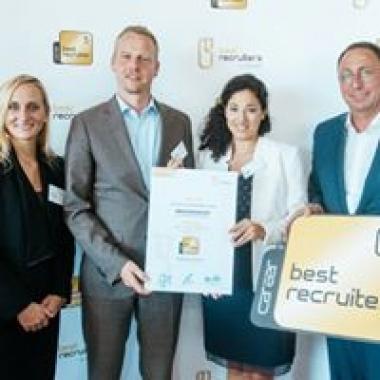 Verleihung Best Recruiters Deutschland