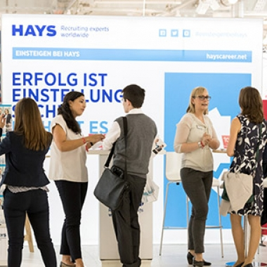 Hays auf dem Absolventenkongress München