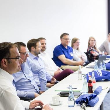Das kobaltblau-Team beim Mitarbeiterworkshop 2017 in Sonthofen