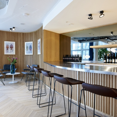 Bar in der Lounge