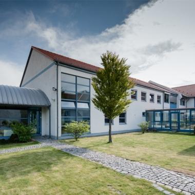 Das Entwicklungscenter in Dresden/Merbitz