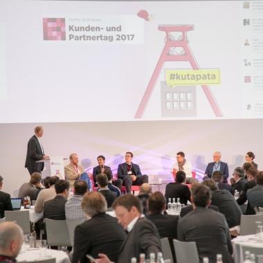Unsere Kunden- und Partnertage 2017 auf dem Gelände des Zeche Zollvereins in Essen