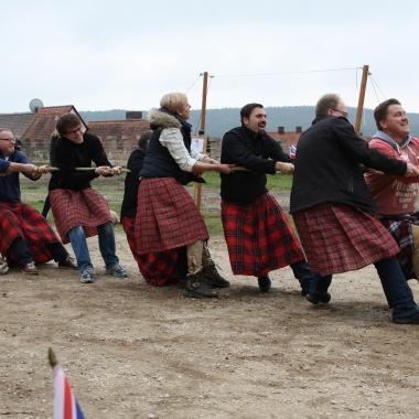 Rustikal ging es bei den Highlandgames zu