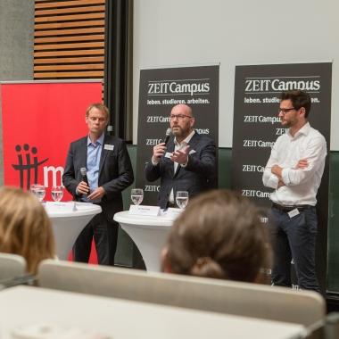Zeit Campus Zukunftsfragen an der Universität Hohenheim (Copyright: Zeit CAMPUS_Danny Schreiber)