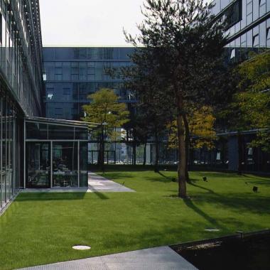 Unser Standort in Köln: Innenhof