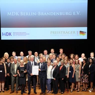 Anerkennung im Qualitätsbereich: Verleihung Ludwig-Erhard-Preis 2017