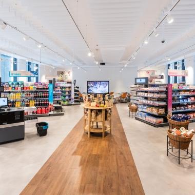 In der Shopper Experience im GS1 Germany Knowledge Center ist ein visionärer Supermarkt der Zukunft entstanden.